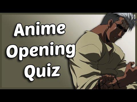 Anime Opening Quiz - 50 Openings [VERY EASY - MEDIUM]