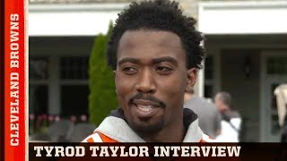 Tyrod Taylor on Reaction to Cleveland Drafting Baker Mayfield   Browns Press Conference