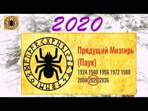 2020 - год ПАУКА . СЛАВЯНСКИЙ КАЛЕНДАРЬ.
