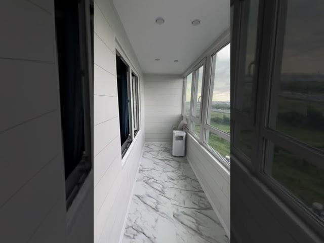Смотреть видео Балкон под ключ @ Маршака 24/1