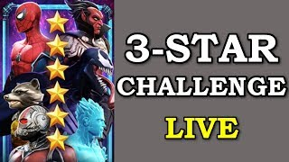 6-Star Boss Rush with only 3-stars! | Marvel Contest of Champions Live Stream