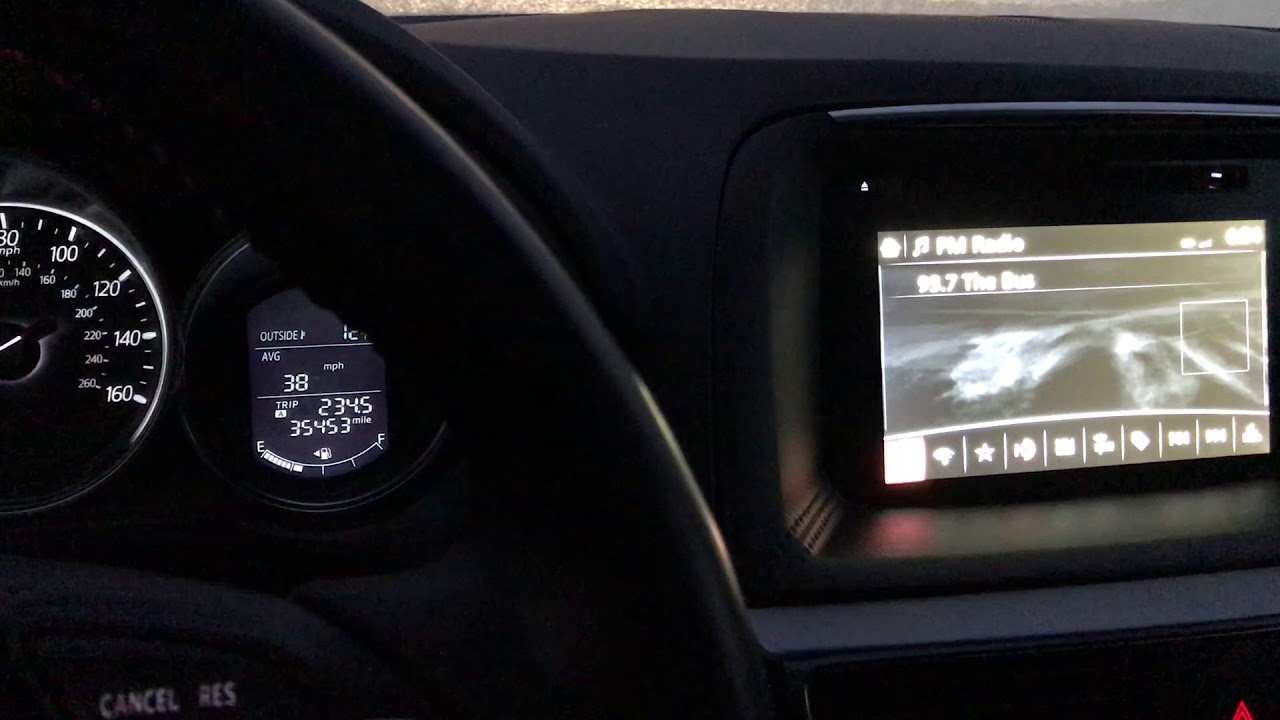 2016 Mazda CX5 Grand Touring Infotainment With Nav Keeps Rebooting When Cold