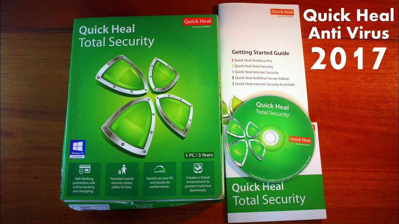 Quick Heal Total Security 2017 Full Review Installation Process Quick Heal Best Paid Antivirus Youtube