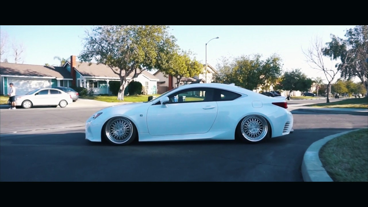 Ricky's Bagged RC350 F Sport - YouTube