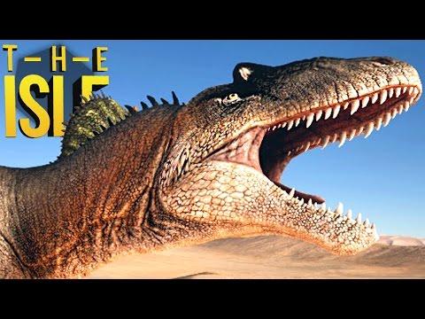 The Isle - Dupla De Allosaurus, Super Deserto, Spinosaurus Caçando! | Dinossauros (#112) (PT-BR)