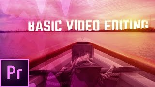 The Basics of Video Editing w/ Premiere Pro CC - Premiere | Educational