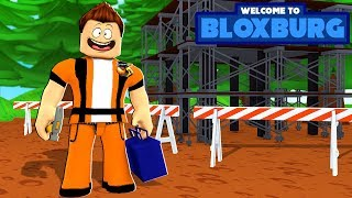 BUILDING A MANSION!! NEW BLOXBURG SERIES - Roblox