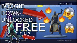 HOW TO GET/CLAIM BOOGIE DOWN DANCE EMOTE FOR FREE! Fortnite Battle Royale Tutorial