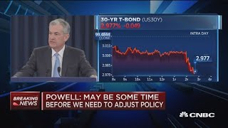 Fed Chair Powell: Tariffs are small relative to size of U.S. economy