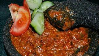 Gambar cover Resep sambal lalap dan gorengan super praktis dan enak