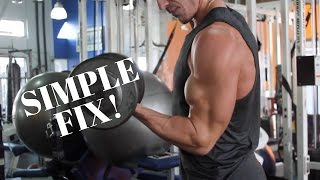 How To Get Bigger Biceps (TINY Form Change)