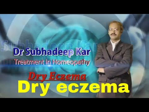 Dry eczema treatment in homeopathy