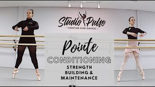 Pointe Conditioning - 25 min