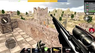 Bullet Strike: Sniper Games - Free Shooting PvP Android Gameplay #3 #DroidCheatGaming screenshot 4