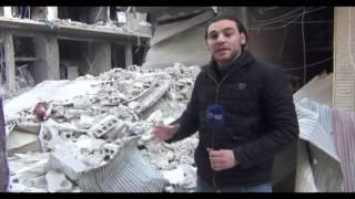 النظام يكثف غاراته الجوية على حيي تشرين والقابون في دمشق