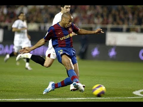Thierry Henry vs Seville 2007-2008 Home
