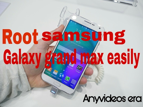 How to Root samsung galaxy grand max easily (part1)
