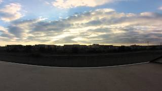 TimeLapse of Sunset - North Alexandria, VA - Sept 19, 2013