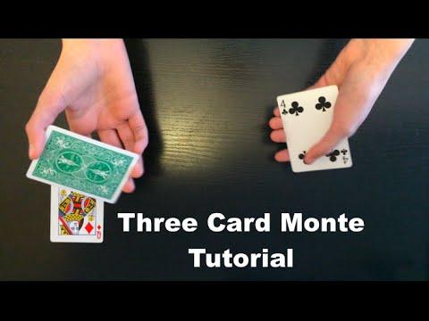 Three Card Monte Beginner Card Trick Revealed