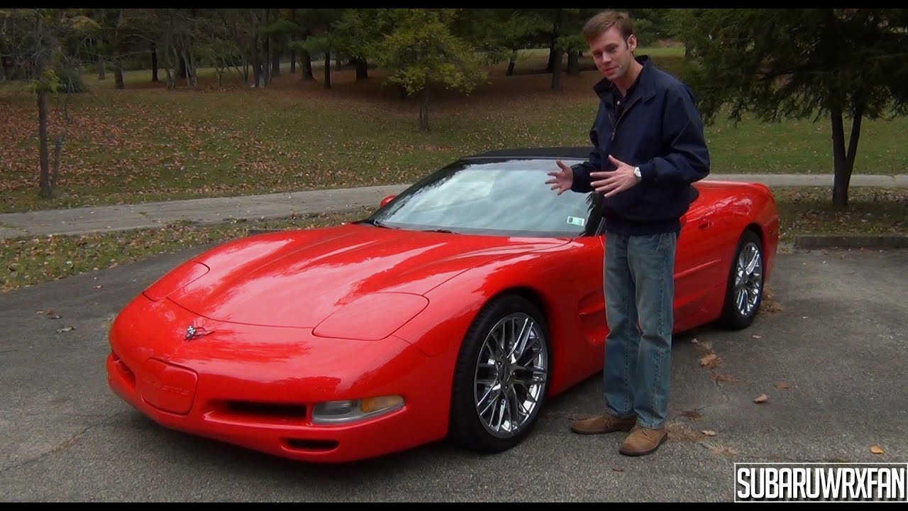 review 2000 chevrolet corvette convertible youtube. Black Bedroom Furniture Sets. Home Design Ideas