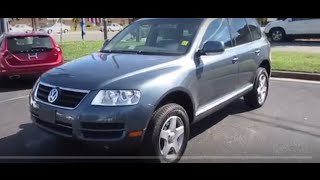 2004 Volkswagen Touareg V6 Walkaround, Start up, Tour and Overview