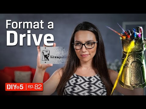 How to Format a Hard Drive or SSD to Erase it Forever! DIY in 5 Ep. 82
