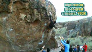 KUMPY Bouldering Strength in Numbers BISHOP CALIFORNIA