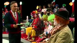 Cor Witschge laatste keer Pipo de clown.