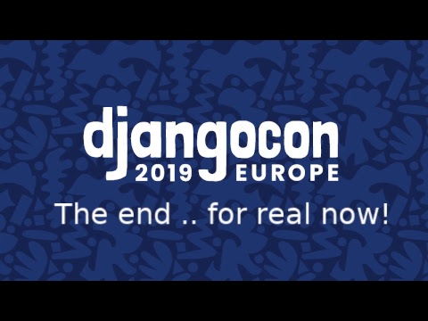 Image from Djangocon 2019 - Europe - Day 3
