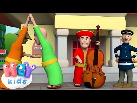 Drei Chinesen mit dem Kontrabass - Kinderlieder TV.de