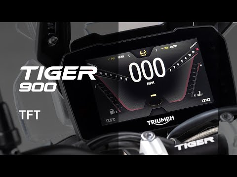 New Triumph Tiger 900 Features and Benefits - TFT