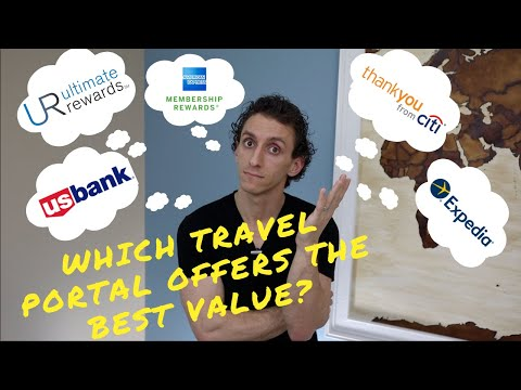 Comparing Different Travel Portals (Chase, Citi, US Bank, Amex & Expedia)| Waller's Wallet