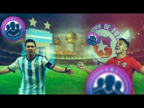 POST ARGENTINA VS CHILE | RECOMPENSA SEMANAL FUT CHAMPIONS & SOBRAZOS DE SBC