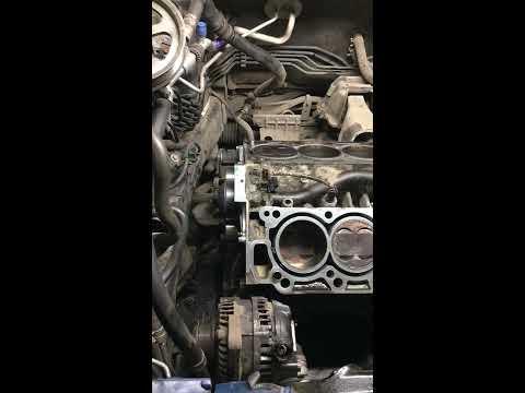 Хонда Кросс Тур , обрыв ремня ГРМ! диагностика и последующий ремонт!