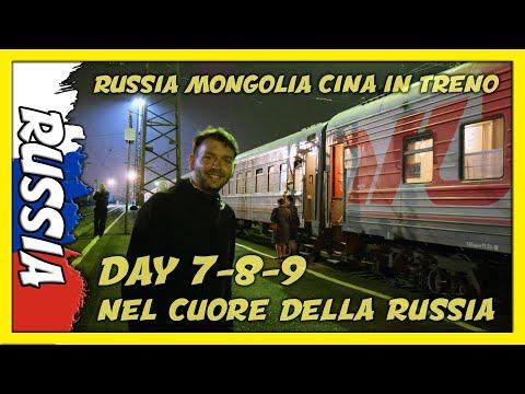 🇷🇺#7-8-9 DORMIRE SULLA TRANSIBERIANA! OMSK KRASNOJARSK NOVOSIBIRSK IRKUTSK RUSSIA Viaggio Fai da te