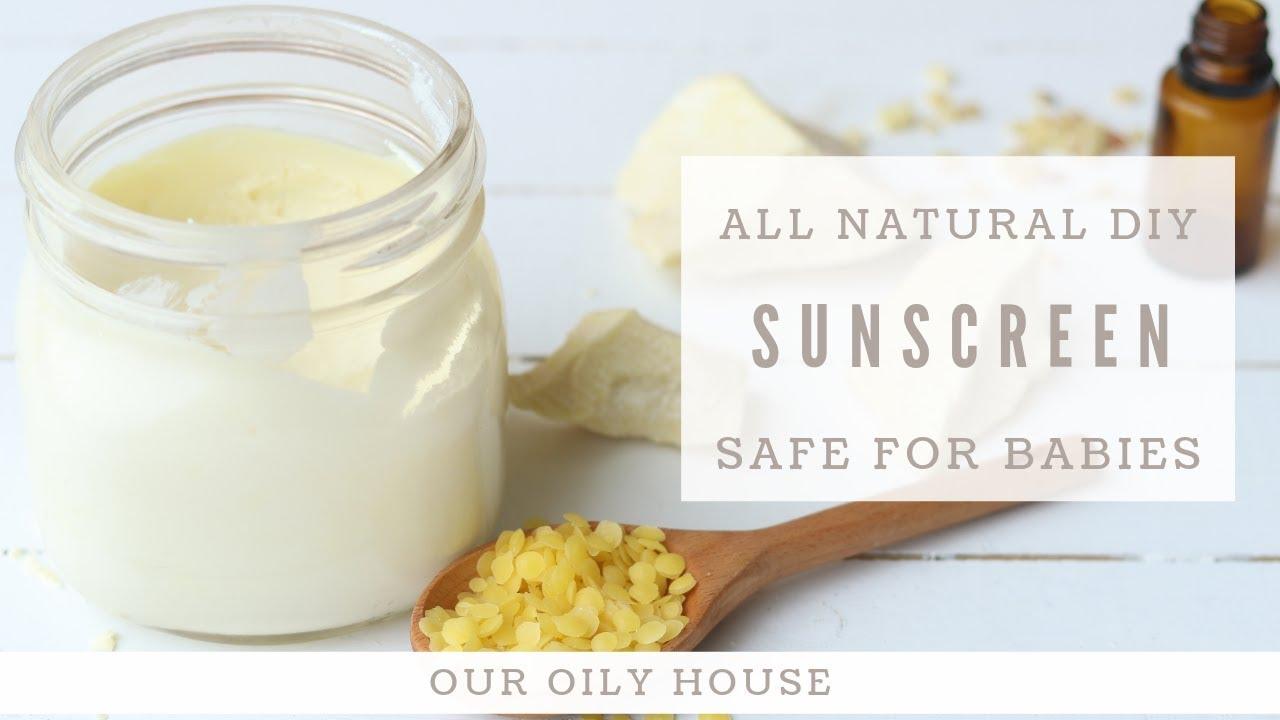 DIY Sunscreen | SAFE FOR BABIES | All