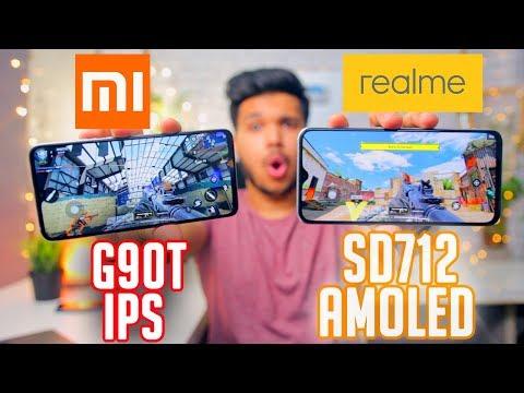 Pubg Ka KING Kon?? REDMI NOTE 8 PRO Vs REALME XT Gaming Review - G90t Vs Sd 712😱🔥