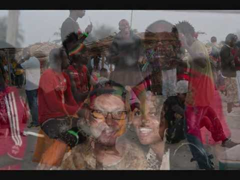 Back To Africa Gambia visit 2012 .Kush Genesis Live BBC Radio show Gambia LWFG