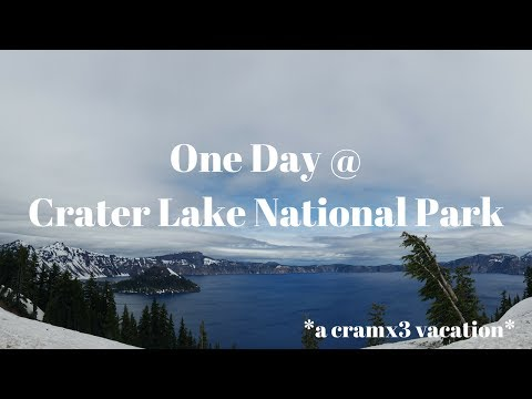 One Day at Crater Lake National Park