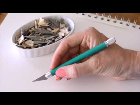 STRATHMORE - Intro To Paper Cutting (Part 1 Of 3) - Artist & Craftsman Supply
