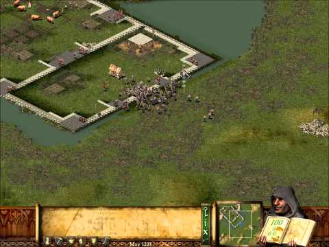 Stronghold Mission 15 - Carving a Path - Easy no cheat no hack patch 1.2 HOW TO DO MISSION 15 EASY