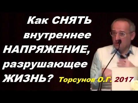 Как СНЯТЬ внутреннее НАПРЯЖЕНИЕ, разрушающее ЖИЗНЬ? Торсунов О.Г. Челябинск, декабрь 2017