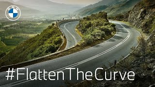 homepage tile video photo for The Curve Up Ahead: Flatten the Curve with BMW | BMW USA