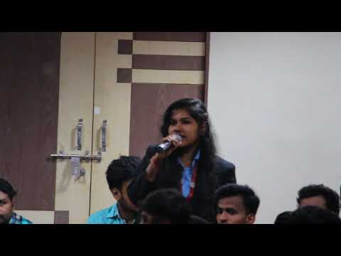 "Education - ""Providing scholarship to all students"" at Youth Parliament ( I - 23 )"