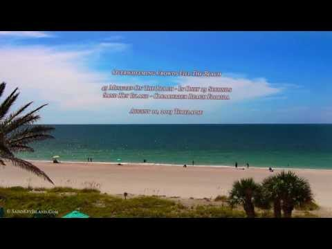 45 Minutes on Sand Key Island Beach In Only 25 Seconds...Timelapse - Clearwater Beach Florida