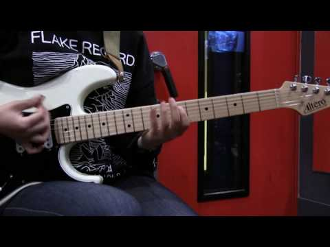 """tricot - How to play """"DeDeDe"""" on Guitar"""