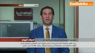 Irak Başbakanı İbadi Türkiye Askerlerini Irak'tan Çeksin