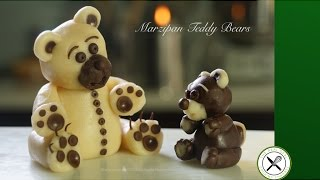 Marzipan Teddy Bears – Bruno Albouze – THE REAL DEAL