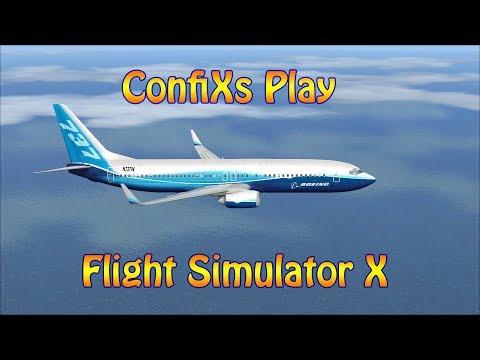 ConfiXs Play Flight Simulator X ( London to Prague )
