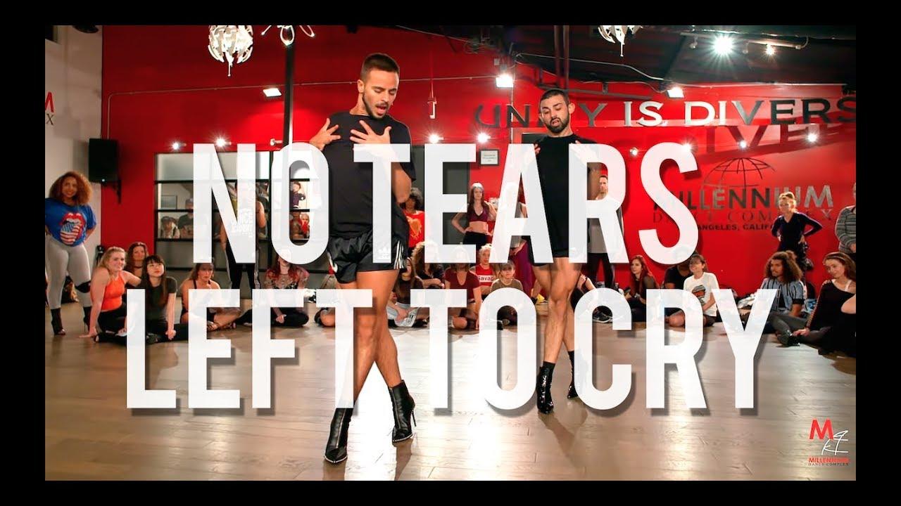 Yanis Marshall Heels Choreography No Tears Left To Cry Ariana Grande